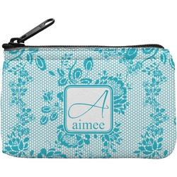 Lace Rectangular Coin Purse (Personalized)