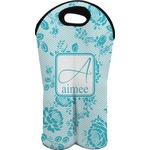 Lace Wine Tote Bag (2 Bottles) (Personalized)