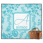 Lace Outdoor Picnic Blanket (Personalized)