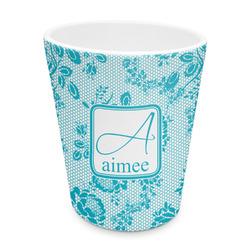 Lace Plastic Tumbler 6oz (Personalized)