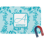 Lace Rectangular Fridge Magnet (Personalized)