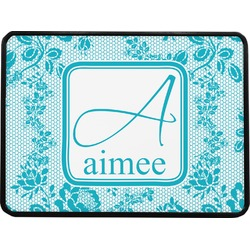 """Lace Rectangular Trailer Hitch Cover - 1.25"""" (Personalized)"""