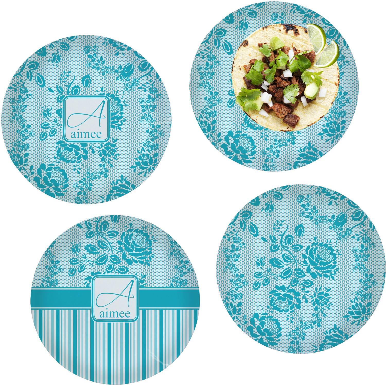 how to make personalised dinner plates