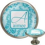 Lace Cabinet Knob (Silver) (Personalized)