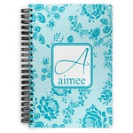 Lace Spiral Notebook (Personalized)