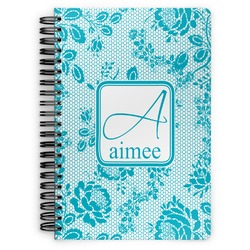 Lace Spiral Bound Notebook (Personalized)