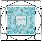 Lace Square Trivet (Personalized)