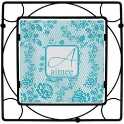 Lace Square Trivet (Personalized)