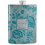Lace Stainless Steel Flask (Personalized)