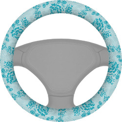 Lace Steering Wheel Cover (Personalized)
