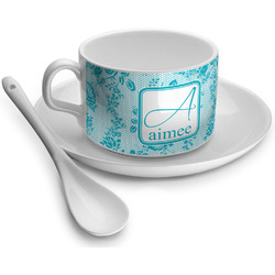 Lace Tea Cup (Personalized)