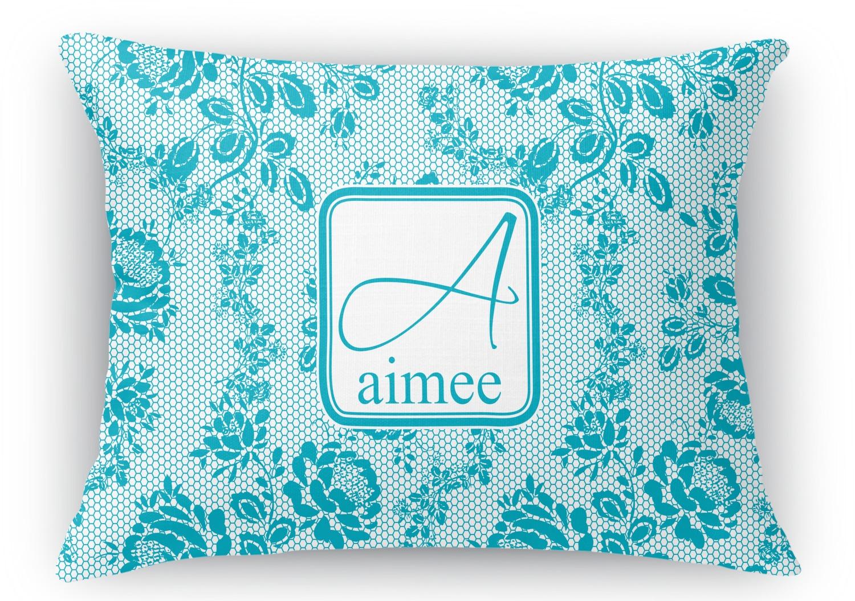 Rectangular Throw Pillow Dimensions : Lace Rectangular Throw Pillow - 18