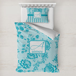 Lace Toddler Bedding w/ Name and Initial