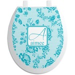 Lace Toilet Seat Decal (Personalized)