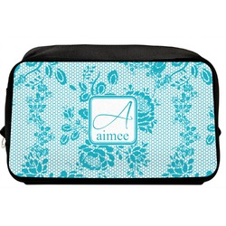 Lace Toiletry Bag / Dopp Kit (Personalized)