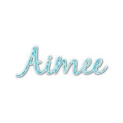 Lace Name/Text Decal - Custom Sizes (Personalized)