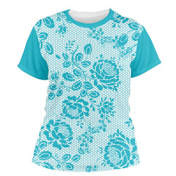 Lace Women's Crew T-Shirt (Personalized)