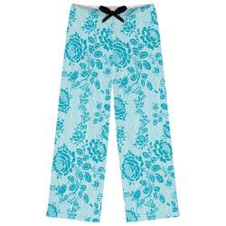 Lace Womens Pajama Pants - XL (Personalized)
