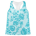 Lace Womens Racerback Tank Top (Personalized)
