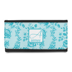 Lace Leatherette Ladies Wallet (Personalized)