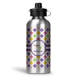 Girls Astronaut Water Bottle - Aluminum - 20 oz (Personalized)
