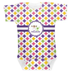 Girls Astronaut Baby Bodysuit (Personalized)