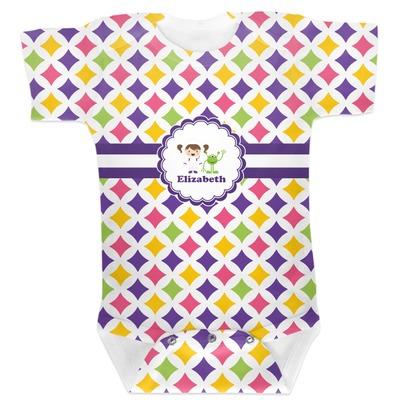 Girls Astronaut Baby Bodysuit (Personalized)
