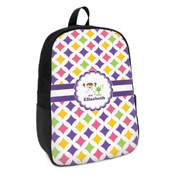 Girls Astronaut Kids Backpack (Personalized)