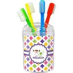 Girls Astronaut Toothbrush Holder (Personalized)