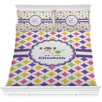 Girls Astronaut Comforter Set (Personalized)
