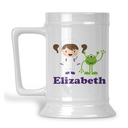 Girls Astronaut Beer Stein (Personalized)