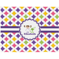Girls Astronaut Placemat (Fabric) (Personalized)