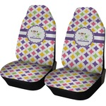 Girls Astronaut Car Seat Covers (Set of Two) (Personalized)