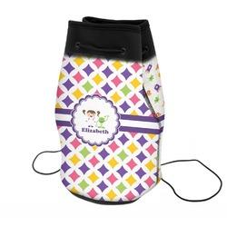 Girls Astronaut Neoprene Drawstring Backpack (Personalized)