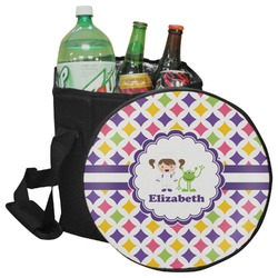 Girls Astronaut Collapsible Cooler & Seat (Personalized)