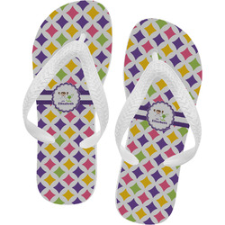 Girls Astronaut Flip Flops (Personalized)