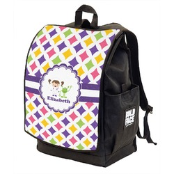 Girls Astronaut Backpack w/ Front Flap  (Personalized)