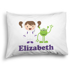 Girls Astronaut Pillow Case - Standard - Graphic (Personalized)