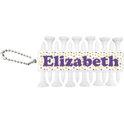 Girls Astronaut Golf Tees & Ball Markers Set (Personalized)