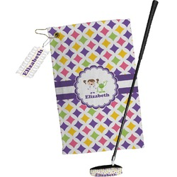Girls Astronaut Golf Towel Gift Set (Personalized)