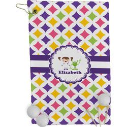 Girls Astronaut Golf Towel - Full Print (Personalized)