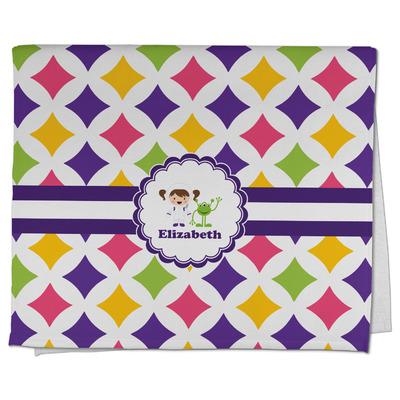Girls Astronaut Kitchen Towel - Full Print (Personalized)