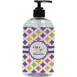 Girls Astronaut Plastic Soap / Lotion Dispenser (Personalized)