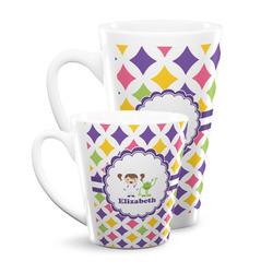 Girls Astronaut Latte Mug (Personalized)