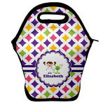 Girls Astronaut Lunch Bag w/ Name or Text