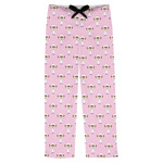 Girls Astronaut Mens Pajama Pants (Personalized)