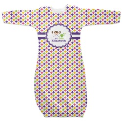 Girls Astronaut Newborn Gown (Personalized)