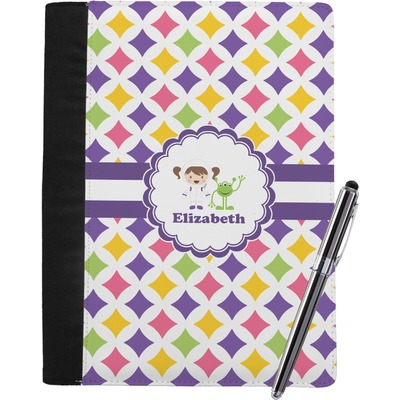Girls Astronaut Notebook Padfolio (Personalized)