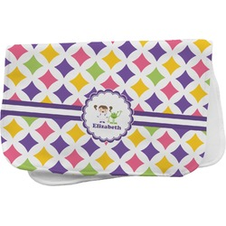 Girls Astronaut Burp Cloth (Personalized)