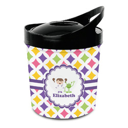 Girls Astronaut Plastic Ice Bucket (Personalized)